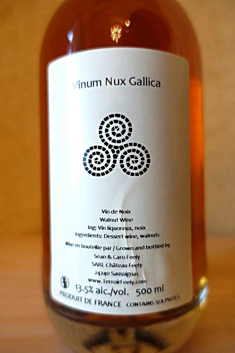 Walnut wine