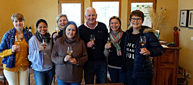 WSET Level 2 edition Nov 2017 – a great group and many wines