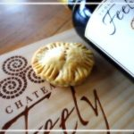 Mince pie with Chateau Feely Resonance