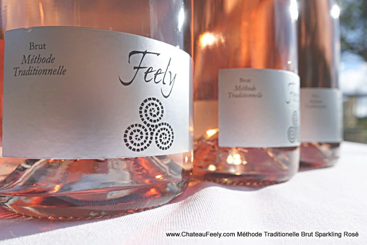 Méthode Traditionelle Sparkling Brut Rosé