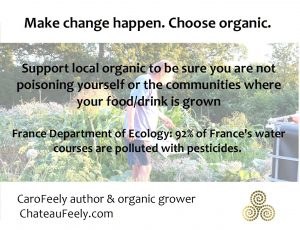 Choose organic to avoid water pollution