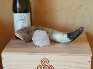 Gratitude to Pierre Masson a biodynamic force who left his earth for the next place on 22 July 2018. He gave me this horn and this cristal to start our biodynamic education and demonstration trail which will be dedicated to him. Go well Pierre.