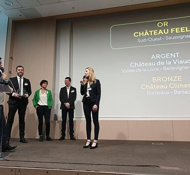 Gold Trophy for Chateau Feely and video
