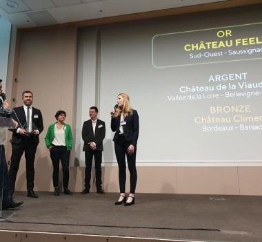 Trophée d'or pour Château Feely et vidéo