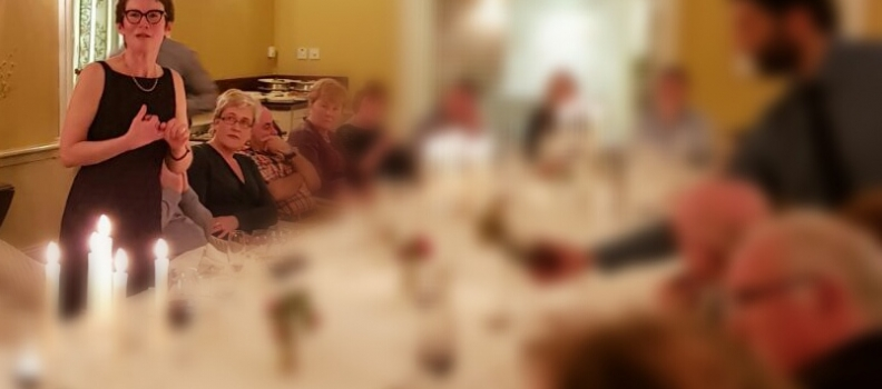 Exceptional food and wine pairings at Ballymaloe Feely wine dinner