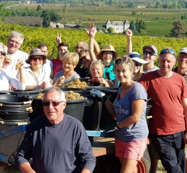 Sun and Dance at the 10th Vine share Harvest Weekend