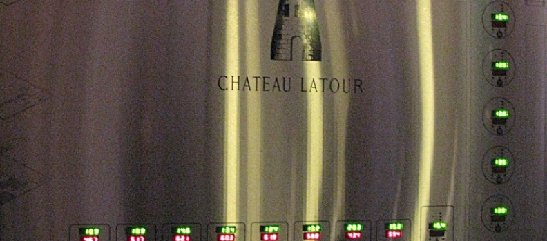 Certified organic – Chateau Latour proud to say they are organic